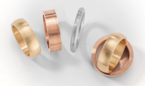 Wedding ring blanks